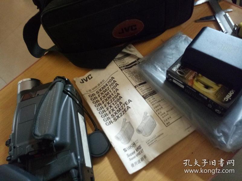 功能完全正常日本原装品牌JVC摄影师
