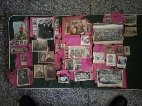 新淘老天津(大王古庄)大家主 自清民国解放初文革等时期家庭照片若干 见图 合影多 时代气息感强