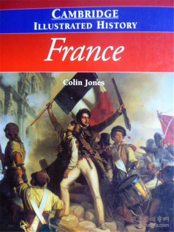 英文原版      The Cambridge Illustrated History of France         法国历史画报