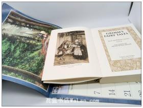 格林童话 插图版 Grimms Fairy Tales(Arthur Rackham插图) 无外壳可做书皮