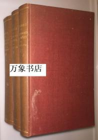 Duhem 迪昂  :  Etudes sur Leonard de Vinci  达芬奇研究  法文原版  1906-1913年初版  三册全   精装本  私藏品好