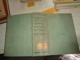 THE NEW American Machinists' Handbook 新编美国机械师手册 (正版现货 硬精装)