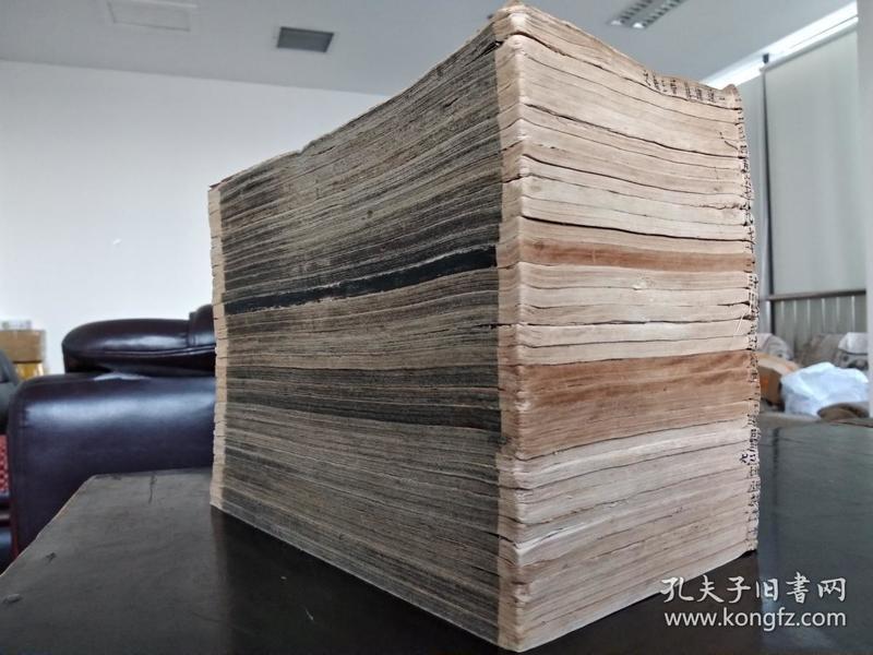 低价出售光绪甲午年蜚英馆石印大开本《钦定三希堂法帖》32册全存31册(含首册尾册)。。。