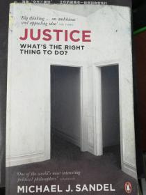 [ 现货]Justice: Whats the Right Thing to Do?  9780141041339