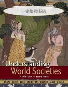 【包邮】2015年版 Understanding World Societies, Combined Volume: A History  1168页厚册