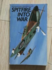 SPITFIRE INTO WAR 二战英德空战原版图书