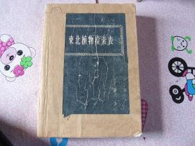 东北植物检索表【藏书】