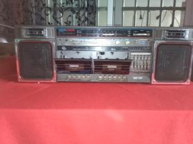 飞梭牌800型双卡收录机(广东珠海无线电厂)