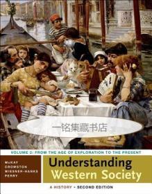 【包邮】2014年版 Understanding Western Society: A History, Volume Two