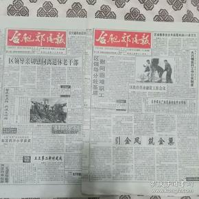 《合肥郊区报》(1996年2月9日、12日)