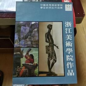 中国高等美术学院学生研究生作品集 浙江美术学院作品