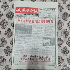 《安徽电力报》(2019年08月25日)