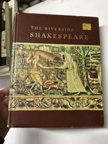 The Riverside Shakespeare 河滨版莎士比亚全集 精装本 字典纸精印 插图本(精装如图、内页干净)