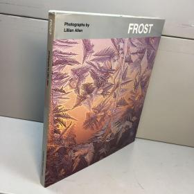 英文原版 frost photographs by lillian allen