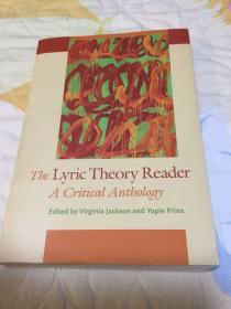 The Lyric Theory Reader, A Critical Anthology 抒情理论读本