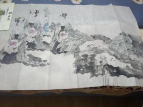 保真:西安画家刘永杰人物