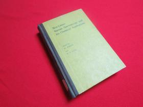 【英文版】非线性喇曼光谱学及其化学应用  1982年