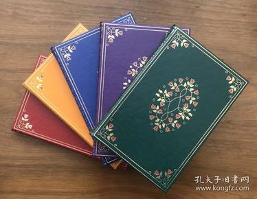 《伊索寓言》笔记本,著名插画家亚瑟·拉克姆绘制插图,1912年版,外研书店出品,北京雅昌印制,红、绿、蓝、黄、紫五色可选