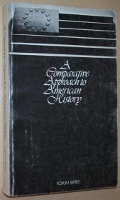 英文原版书 A Comparative Approach to American History by C. Vann Woodward