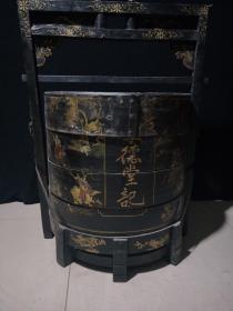 老家具漆器食箩,代理转图可以加价,运费自理。
