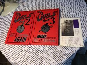 英文原版 the girls book 2 : how to be the best at everything again + 3:  Even more ways to be the best at everything