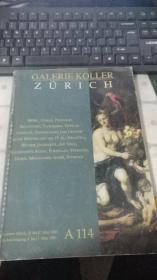 GALERIE KOLLER ZURICH  2000
