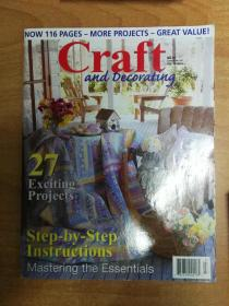 Craft and  Decorating VOL 12 NO6 (英文版 装饰工艺杂志)