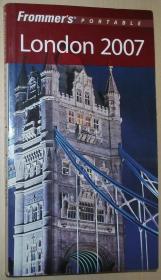 英文原版书 Frommers Portable London 2007 伦敦旅游指南 袖珍本 Darwin Porter  (Author), Danforth Prince (Author)
