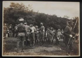 民国抗战时期侵华日军老照片:日伪军铡杀东北抗联将士照片10张