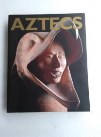 AZTECS 阿兹特克文物 附单两张、相关剪报两张