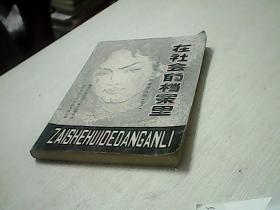在社会的档案里——中国当代文学参考资料(之一.之二) 2本
