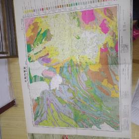 中华民国三十七年长沙地质地图(73✘56)cm