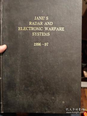 英文影印本:janes radar and electronic warfare systems 1996-97