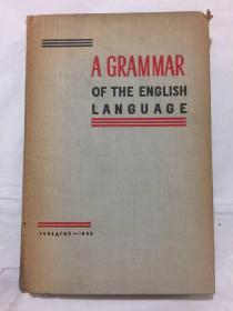 A GRAMMAR OF THE ENGLISH LANGUAGE (英语语法)