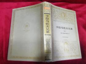 世界文学名著文库  卡拉马佐夫兄弟(上册,护封精装)