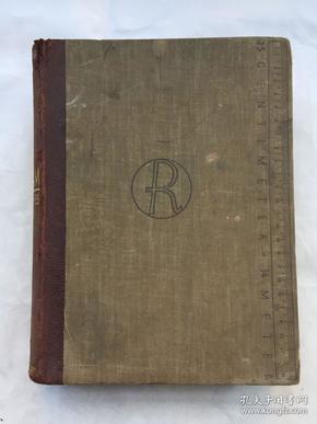 1927年德文原版RECLAM PRAKTISCHES WISSEN(皮脊精装)