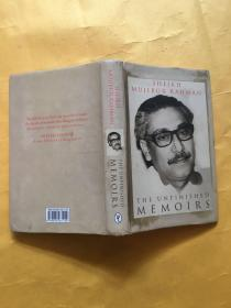 The Unfinished Memoirs by Mujibur Rahman Sheikh 英文原版精装