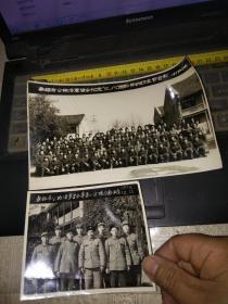2张70年无锡市公检法军管会老照片三八妇女节和专案小队各一张(年份分别为72年一张和73年一张)