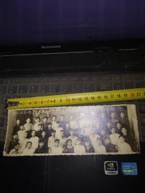 1956年东北二公司一处青年水暖队与哈建工校队208班同学合影纪念