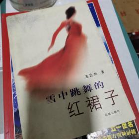 雪中跳舞的红裙子