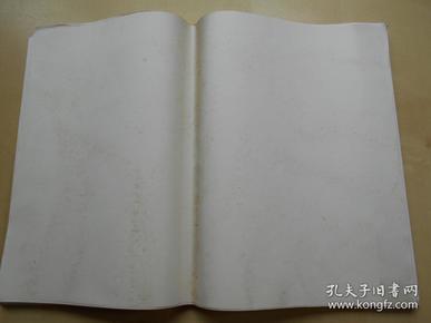 老纸头【90年代,大白纸94张】尺寸:38.8×26.9厘米