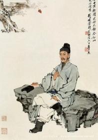 古代文学家明信片
