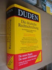 德文原版 德文原版 DUDEN Die deutsche Rechtschreibung:Das Standardwerk zu allen Fragen der Rechtschreibung 精装