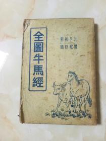 全图牛马经(附驼经)为古代相马、相牛、相驼及兽医验方专著