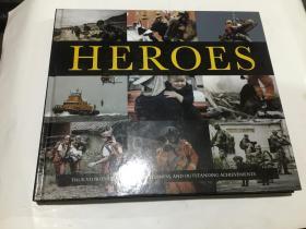 heroes  (12开精装英文原版)