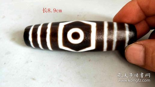 清代藏传老天珠挂件3