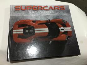 SUPERCARS BUILT FOR SPEED 为了速度的超级跑车 精装画册 1928-2018经典跑车彩图  (12开精装英文原版.见图)