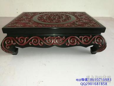 收藏漆器桌子