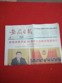 原版安徽日报2018年12月19日16版全