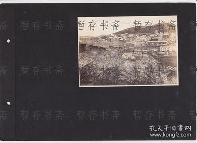 特惠一张 民国原版照片 【东三省某初村落】一张